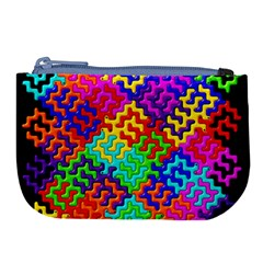 3d Fsm Tessellation Pattern Large Coin Purse