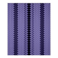 Zig Zag Repeat Pattern Shower Curtain 60  X 72  (medium)  by BangZart