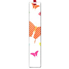 Beautiful Colorful Polka Dot Butterflies Clipart Large Book Marks by BangZart