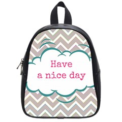 Have A Nice Day School Bags (small)  by BangZart