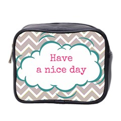 Have A Nice Day Mini Toiletries Bag 2 Side by BangZart