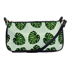 Leaf Pattern Seamless Background Shoulder Clutch Bags by BangZart
