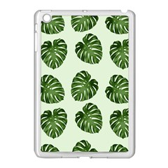 Leaf Pattern Seamless Background Apple Ipad Mini Case (white) by BangZart
