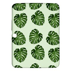 Leaf Pattern Seamless Background Samsung Galaxy Tab 3 (10 1 ) P5200 Hardshell Case