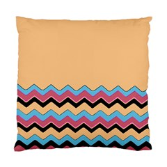 Chevrons Patterns Colorful Stripes Standard Cushion Case (one Side) by BangZart