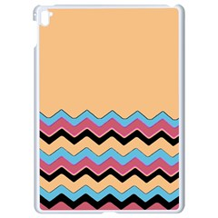 Chevrons Patterns Colorful Stripes Apple Ipad Pro 9 7   White Seamless Case by BangZart