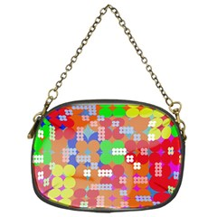 Abstract Polka Dot Pattern Chain Purses (one Side)  by BangZart