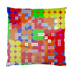 Abstract Polka Dot Pattern Standard Cushion Case (one Side) by BangZart