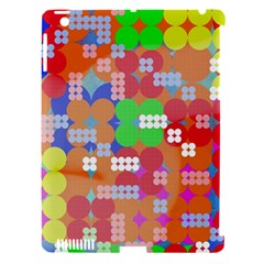 Abstract Polka Dot Pattern Apple Ipad 3/4 Hardshell Case (compatible With Smart Cover) by BangZart