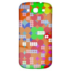 Abstract Polka Dot Pattern Samsung Galaxy S3 S Iii Classic Hardshell Back Case by BangZart
