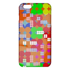 Abstract Polka Dot Pattern Iphone 6 Plus/6s Plus Tpu Case by BangZart