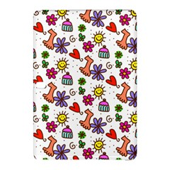 Cute Doodle Wallpaper Pattern Samsung Galaxy Tab Pro 10 1 Hardshell Case by BangZart