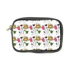 Handmade Pattern With Crazy Flowers Coin Purse by BangZart