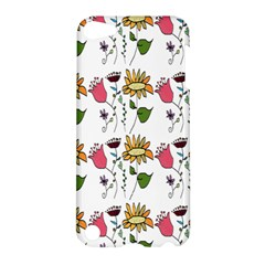 Handmade Pattern With Crazy Flowers Apple Ipod Touch 5 Hardshell Case by BangZart