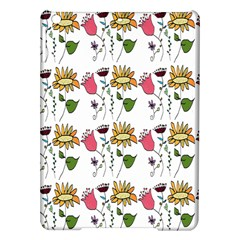 Handmade Pattern With Crazy Flowers Ipad Air Hardshell Cases by BangZart