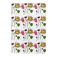Handmade Pattern With Crazy Flowers Samsung Galaxy Tab Pro 10 1 Hardshell Case by BangZart