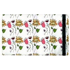 Handmade Pattern With Crazy Flowers Apple Ipad Pro 12 9   Flip Case by BangZart