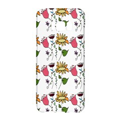 Handmade Pattern With Crazy Flowers Samsung Galaxy S8 Hardshell Case  by BangZart