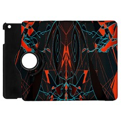Doodle Art Pattern Background Apple Ipad Mini Flip 360 Case by BangZart