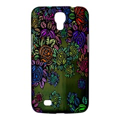 Grunge Rose Background Pattern Samsung Galaxy Mega 6 3  I9200 Hardshell Case by BangZart