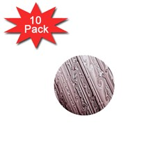 Vintage Pattern Background Wallpaper 1  Mini Buttons (10 Pack)