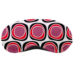 Wheel Stones Pink Pattern Abstract Background Sleeping Masks by BangZart