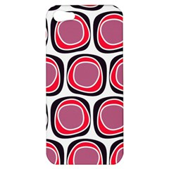 Wheel Stones Pink Pattern Abstract Background Apple Iphone 5 Hardshell Case by BangZart