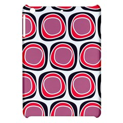 Wheel Stones Pink Pattern Abstract Background Apple Ipad Mini Hardshell Case by BangZart