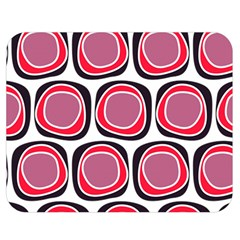 Wheel Stones Pink Pattern Abstract Background Double Sided Flano Blanket (medium)  by BangZart