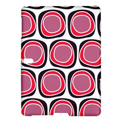 Wheel Stones Pink Pattern Abstract Background Samsung Galaxy Tab S (10 5 ) Hardshell Case  by BangZart