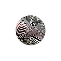 Abstract Fauna Pattern When Zebra And Giraffe Melt Together Golf Ball Marker (10 Pack) by BangZart