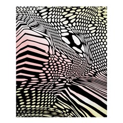 Abstract Fauna Pattern When Zebra And Giraffe Melt Together Shower Curtain 60  X 72  (medium)  by BangZart