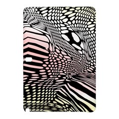 Abstract Fauna Pattern When Zebra And Giraffe Melt Together Samsung Galaxy Tab Pro 10 1 Hardshell Case by BangZart
