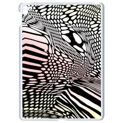 Abstract Fauna Pattern When Zebra And Giraffe Melt Together Apple Ipad Pro 9 7   White Seamless Case by BangZart