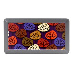 Colorful Trees Background Pattern Memory Card Reader (mini) by BangZart