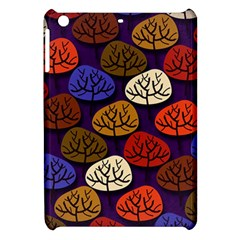 Colorful Trees Background Pattern Apple Ipad Mini Hardshell Case by BangZart
