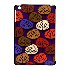 Colorful Trees Background Pattern Apple Ipad Mini Hardshell Case (compatible With Smart Cover) by BangZart