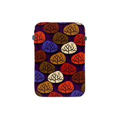 Colorful Trees Background Pattern Apple Ipad Mini Protective Soft Cases by BangZart