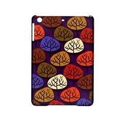 Colorful Trees Background Pattern Ipad Mini 2 Hardshell Cases by BangZart