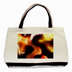 Colourful Abstract Background Design Basic Tote Bag by BangZart