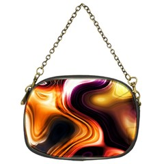 Colourful Abstract Background Design Chain Purses (one Side)  by BangZart
