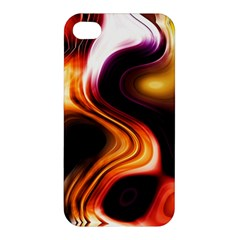 Colourful Abstract Background Design Apple Iphone 4/4s Hardshell Case by BangZart