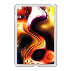 Colourful Abstract Background Design Apple Ipad Mini Case (white) by BangZart