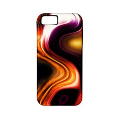 Colourful Abstract Background Design Apple Iphone 5 Classic Hardshell Case (pc+silicone) by BangZart