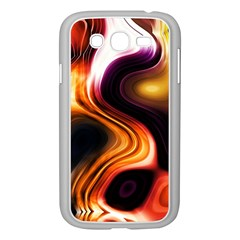 Colourful Abstract Background Design Samsung Galaxy Grand Duos I9082 Case (white) by BangZart