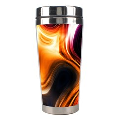 Colourful Abstract Background Design Stainless Steel Travel Tumblers by BangZart