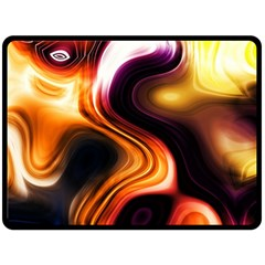 Colourful Abstract Background Design Double Sided Fleece Blanket (large)  by BangZart