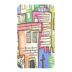A Village Drawn In A Doodle Style Memory Card Reader by BangZart