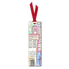 A Village Drawn In A Doodle Style Small Book Marks by BangZart