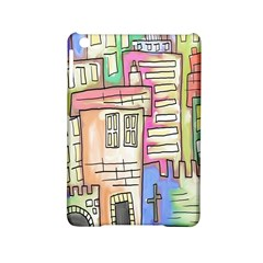 A Village Drawn In A Doodle Style Ipad Mini 2 Hardshell Cases by BangZart